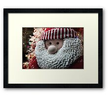 Christmas elf Framed Print