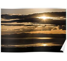 Donegal Sunset Poster