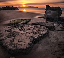 Castlerock Sunset by Nigel R Bell