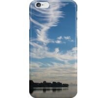 Of Feathery Clouds and Tranquil Mornings iPhone Case/Skin
