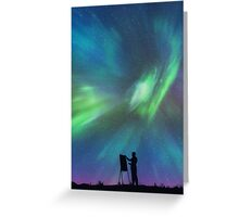 Borealis Painter Greeting Card