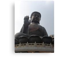 Full Frontal Buddha Canvas Print