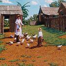 Feeding the Chooks by Cary McAulay