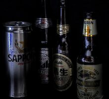 Japanese Beers by Andrew Pounder