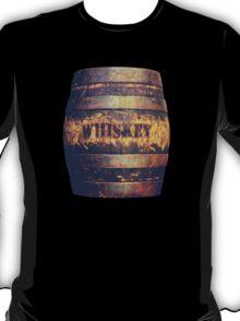 Rustic American Whiskey Barrel T-Shirt