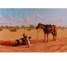 A Stockman's Rest Photographic Print