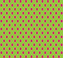 Bright Polka Dots by ArtfulDoodler