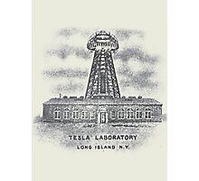 Tesla Lab Photographic Print