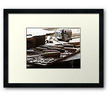 Wood Working Framed Print