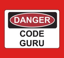 Danger Code Guru - Warning Sign by graphix