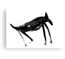 Horsey 3 Canvas Print