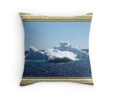 Iceberg-3 ...on close up Throw Pillow