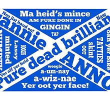 Scottish slang and phrases by piedaydesigns