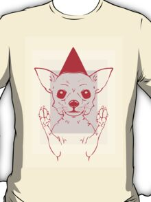 One Pink Chihuahua Trapped in Boxes T-Shirt
