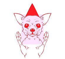 One Pink Chihuahua Trapped in Boxes by MessianicBum