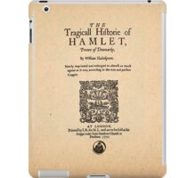 Shakespeare's Hamlet Front Piece iPad Case/Skin