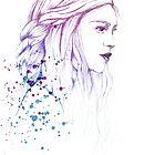 Daenerys in Colours by Aleksandra Kurczewska