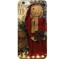 Country Christmas Crafts 2 iPhone Case/Skin