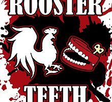 Rooster Teeth Splatter by Skootaloo