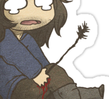 An Arrow in the Knee Sticker