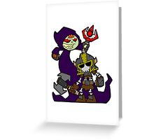 Rise from your grave! Greeting Card