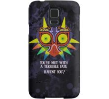 Majora's Mask Splatter (Quote No Background) Samsung Galaxy Case/Skin
