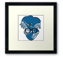The wind rises. Framed Print