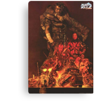 Mad max 2 Noriyosi Ohrai Canvas Print