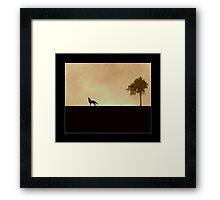 ...Lonliness... Framed Print