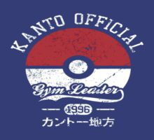 Kanto Official Gym Leader by tyroneredbubble