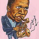 John Coltrane by andrea v