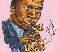 John Coltrane by andrea v
