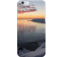 Small Cove Pink and Snowy Dawn iPhone Case/Skin