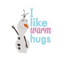 i like warm hugs.. olaf by chicamarsh1