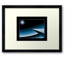 ...A call from the another world... Framed Print