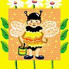 Don't worry, bee happy by goanna
