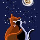 Love cats by goanna