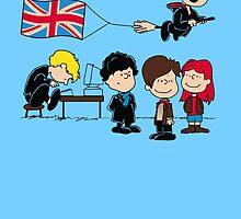 Brit Peanuts by foureyedesign