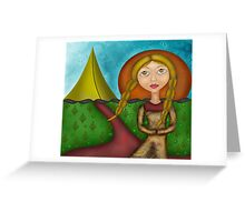 Princess of the Tents Greeting Card