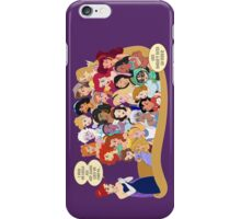 She Doesn't Even Go Here! iPhone Case/Skin