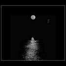 ~*~Moon and the boat~*~ by Biswajit Pandey