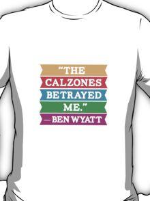 "Parks & Rec: ""Calzones"" T-Shirt"