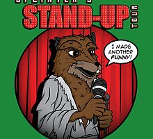 Splinter's Stand-Up Tour by irkedorc
