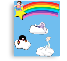 Steven in the Sky with Gems Canvas Print