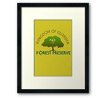 Guardia Forest Preserve Framed Print