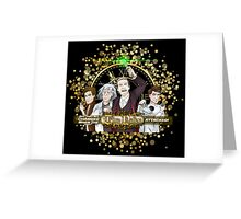 But That All Changed When The Time Nation Attacked! Greeting Card