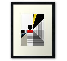 BLACK POINT Framed Print