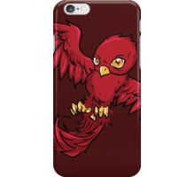 Bad Little Bird - Red iPhone Case/Skin