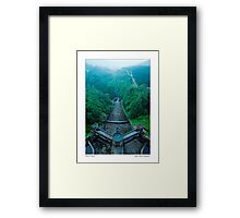 Middle Earth Yorkshire style... Framed Print