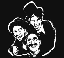 marx brothers t-shirt by ralphyboy